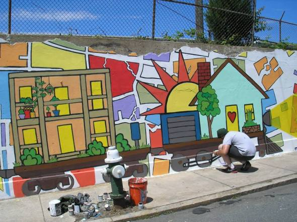Celebrate the murals completion June 1st!